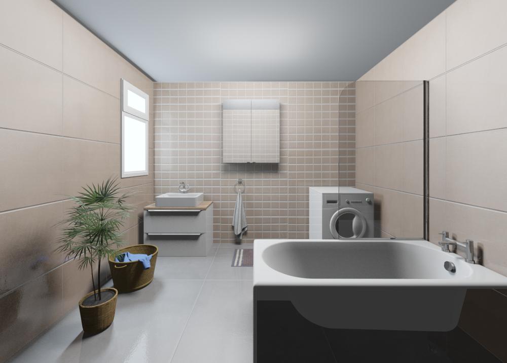 An example bathroom in Chroma