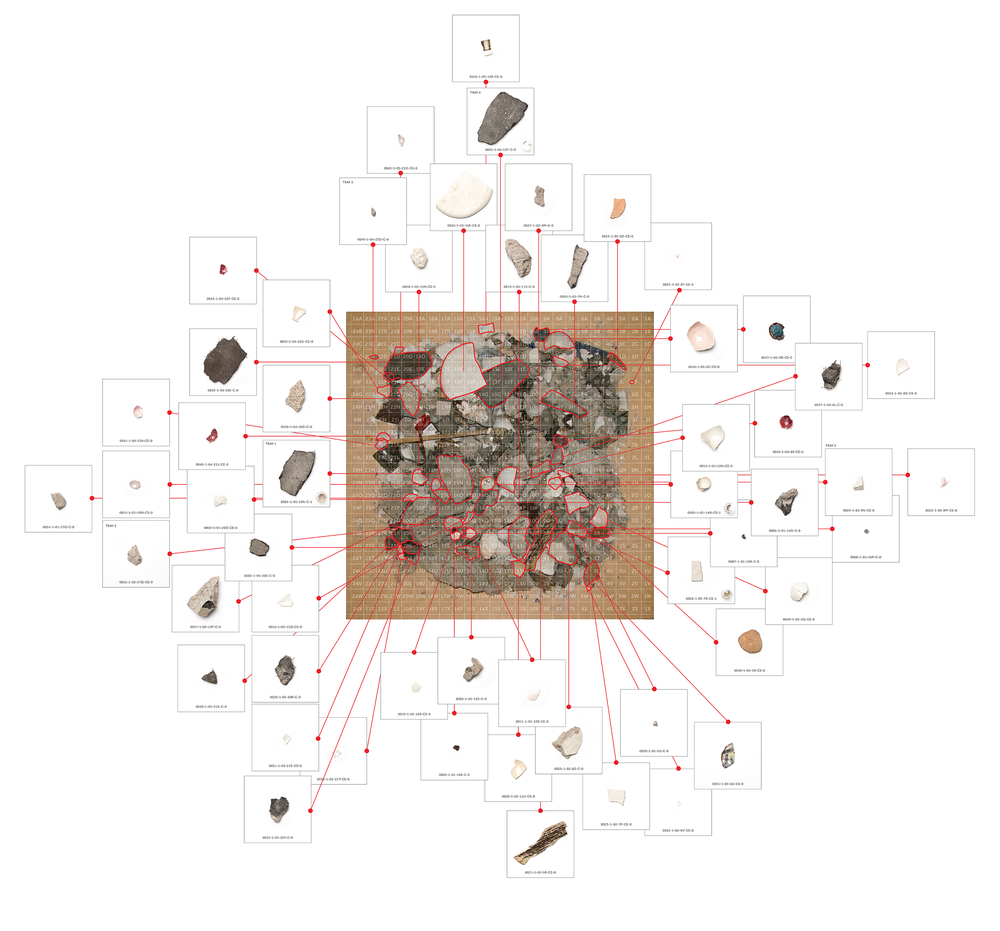 30 maps to reposition each of the 1442 pieces