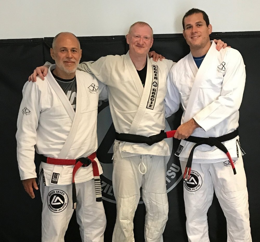 brazilian jiu jitsu black belt harrow