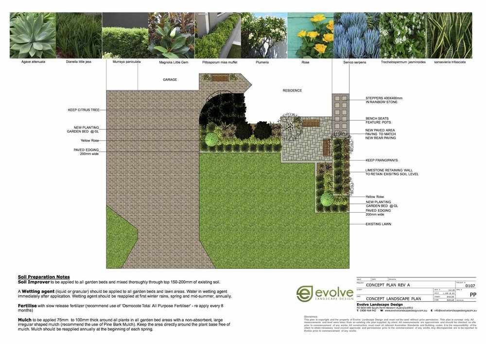 Entry level Landscape Design $800 - Ideal for homeowners on a lower budget or smaller courtyardincludes :Onsite design consultation (approx. 30 - 60 min)Scaled Landscape plan (2d plan view)1 set of design refinementsFinal Landscape layout (2d plan view)FOR ONE AREA ONLY (FRONT OR REAR) Sites with complex levels or complex design briefs will be quoted as per job. Please note site plans need to be supplied otherwise an hourly rate will be charged to measure the site. (price quoted onsite)