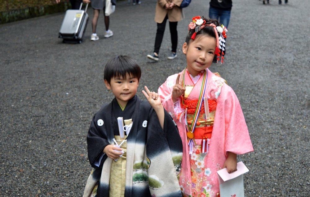 Japanese wedding - cute children