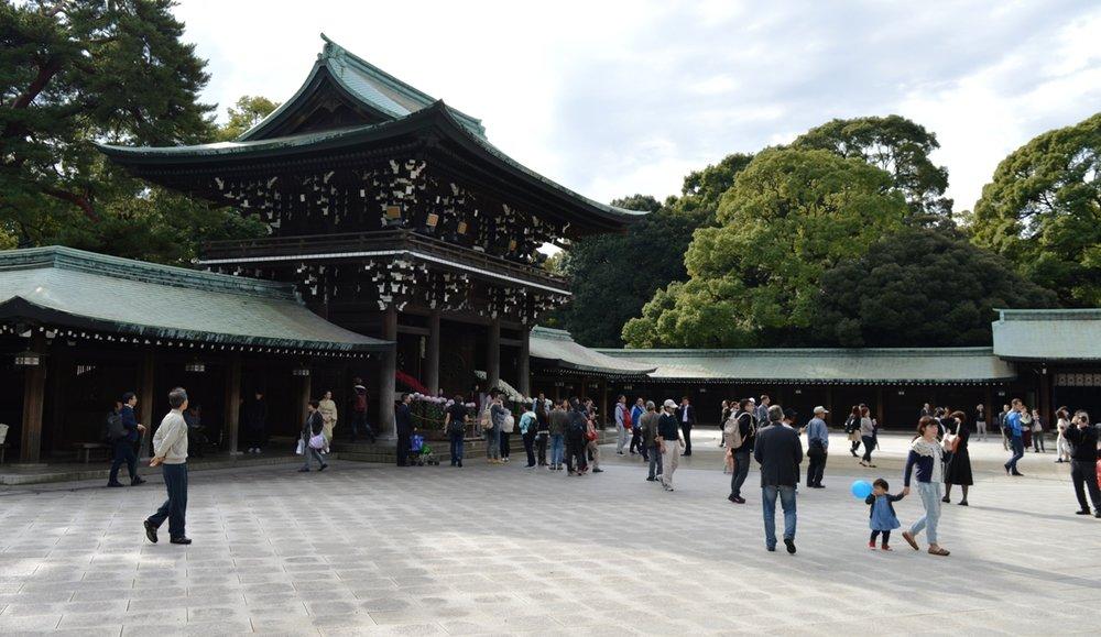 Japanese wedding - the shrine
