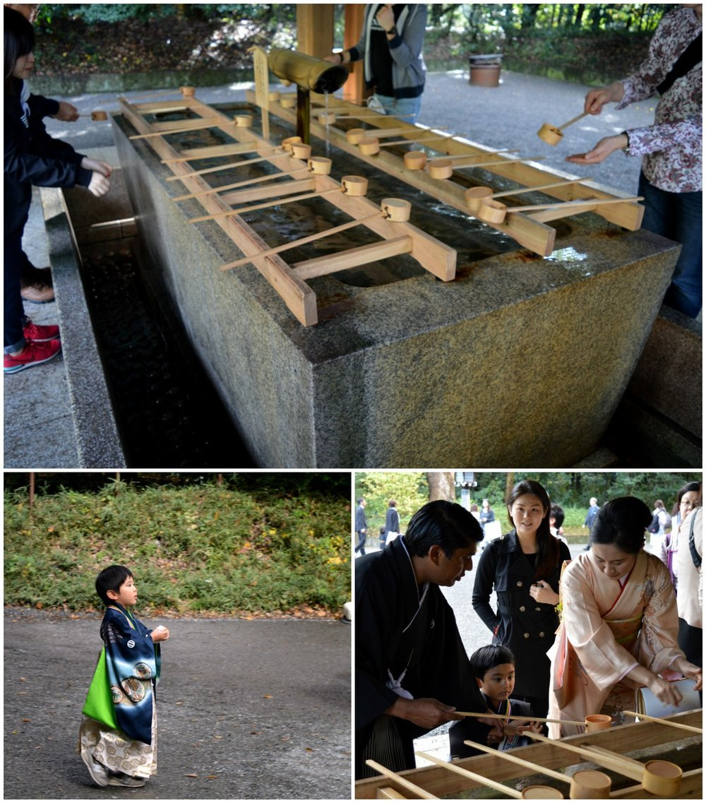 Japanese wedding - Prayer