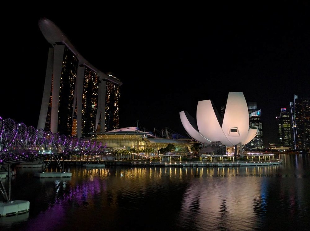 The mesmerizing Marina Bay Sands