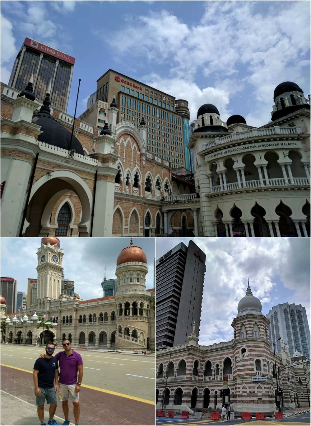 Beautiful architecture at Merdeka Square in KL