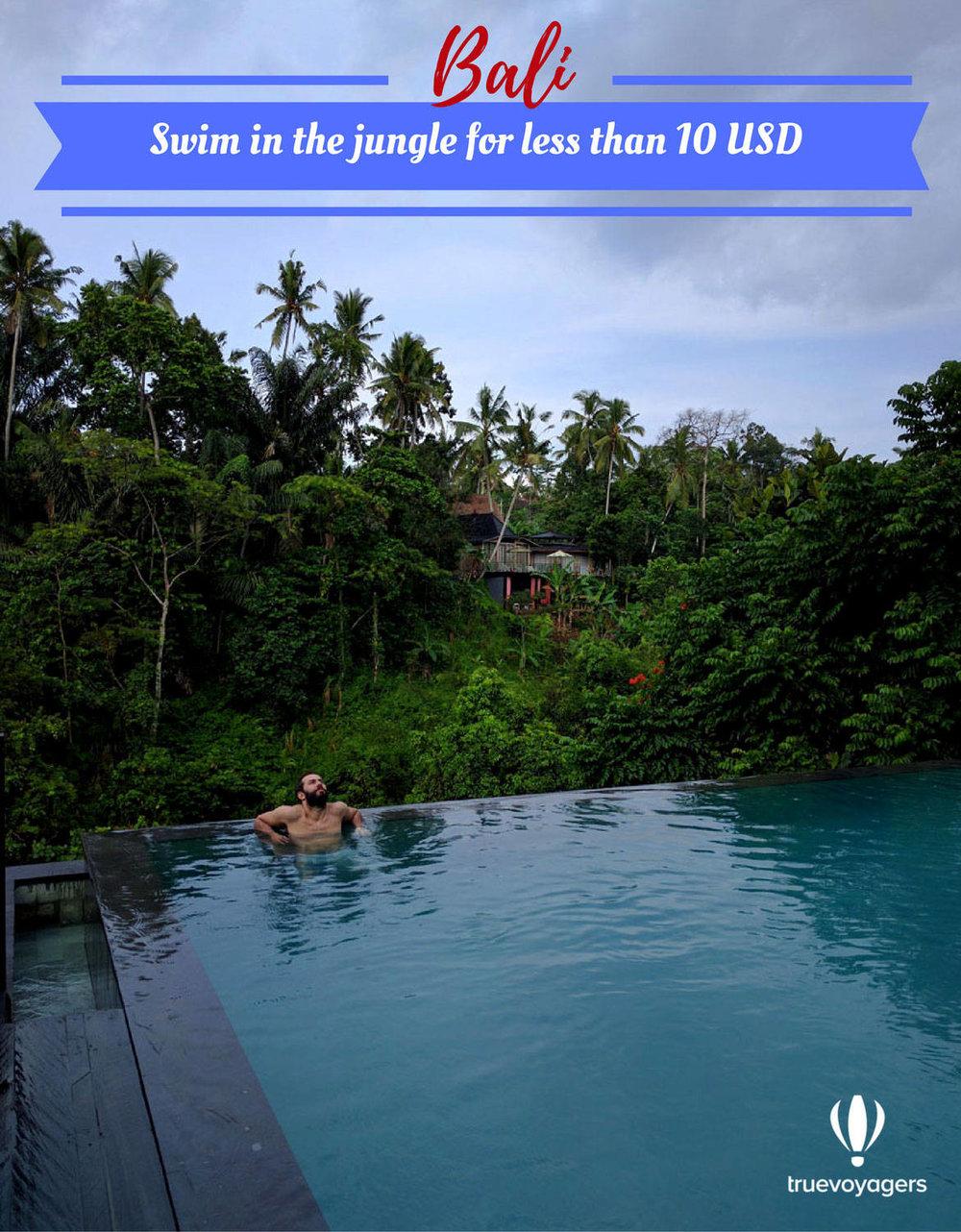 Κολυμπήστε στην καλύτερη πισίνα στο Μπαλί
