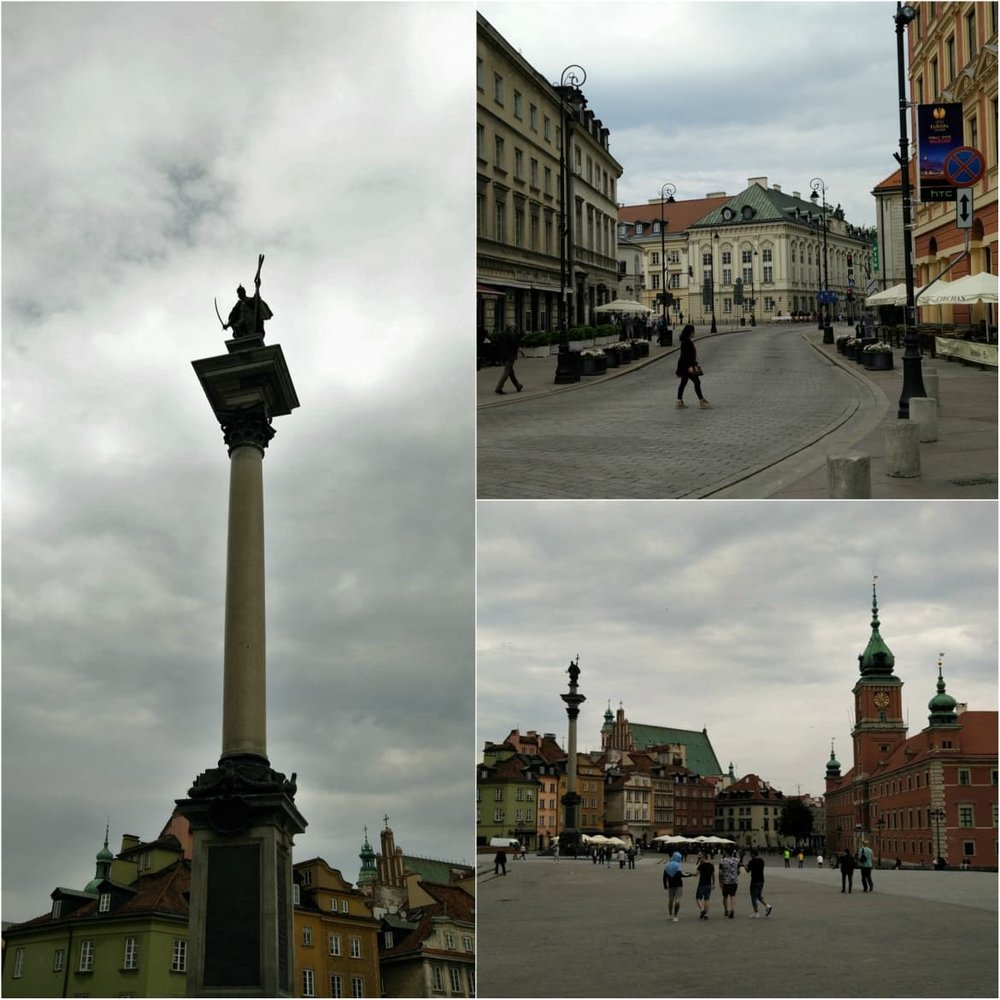 Sigismund's Column in Castle Square