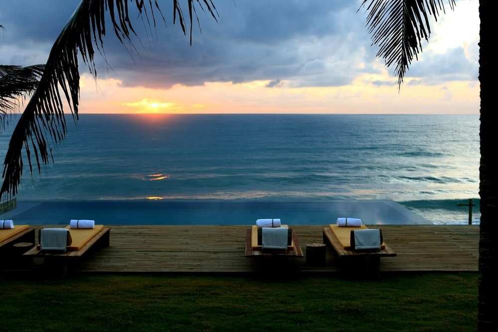 Sunset at Kenoa Exclusive Beach Spa & Resort