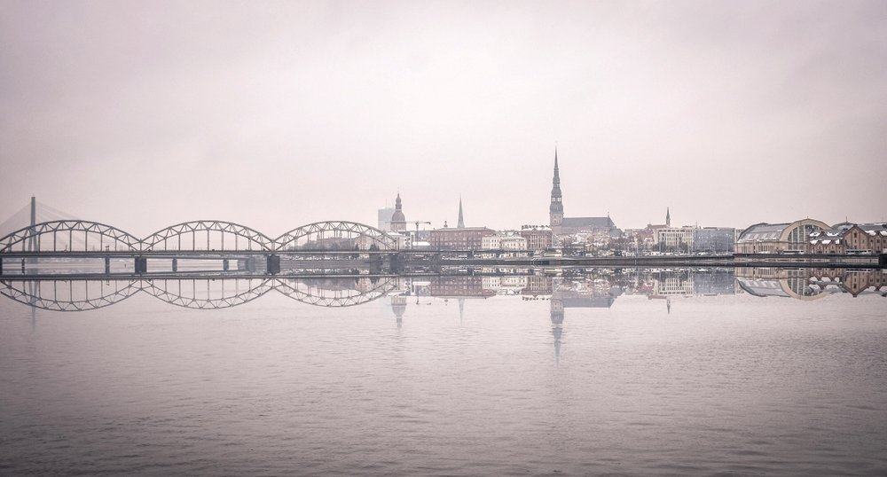 Panoramic landscape of Riga in 5+1 reasons to visit Latvia