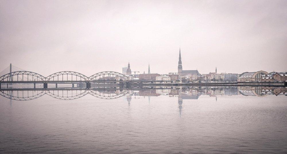 Πανοραμική λήψη της Ρίγας