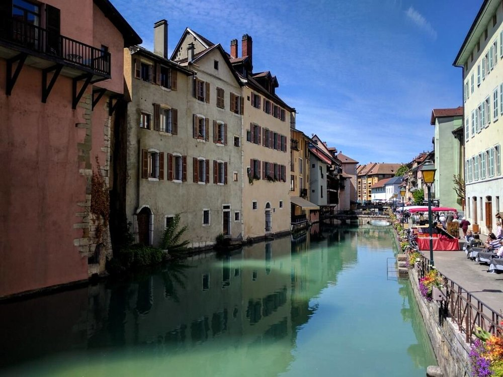 Picture-perfect cityscape of Annecy