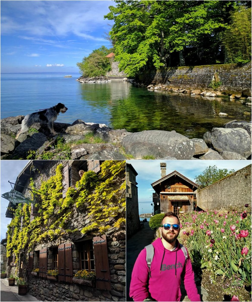 Around Lake Leman part I: Yvoire