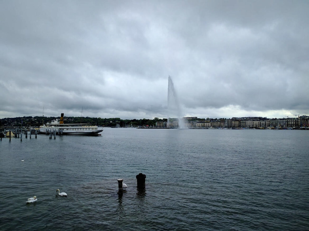 Jet d'eau. Geneva's symbol