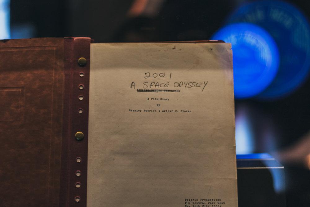 A space Odyssey - 2001 manuscript