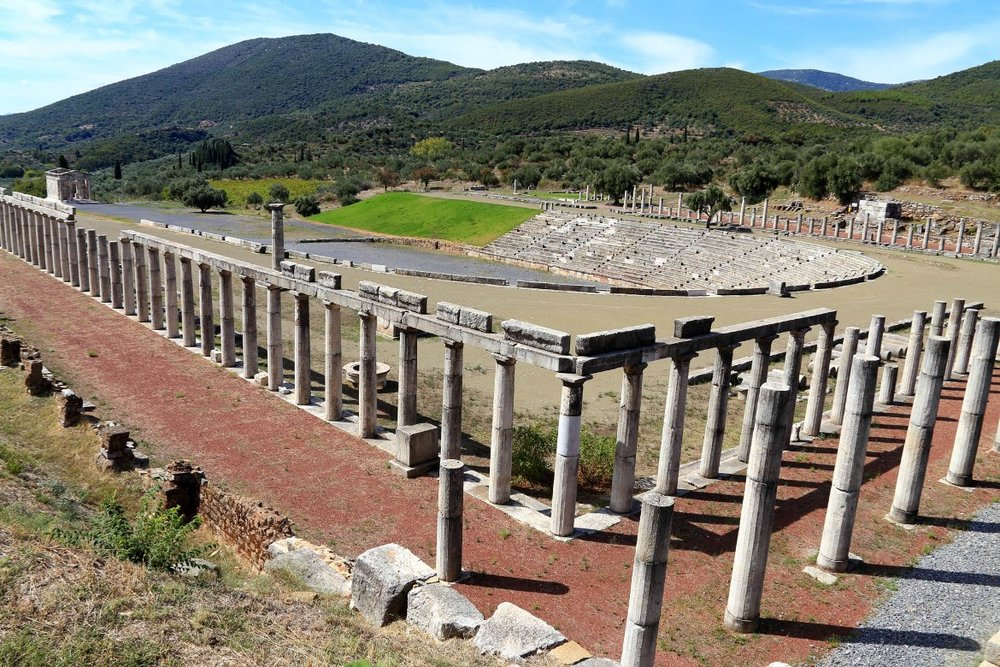 Ancient Messene in Peloponnese