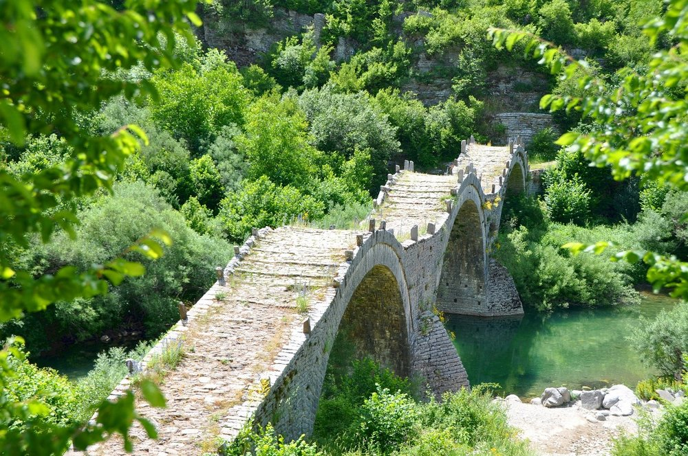 Bridge of Kalogeriko in Zagorochoria