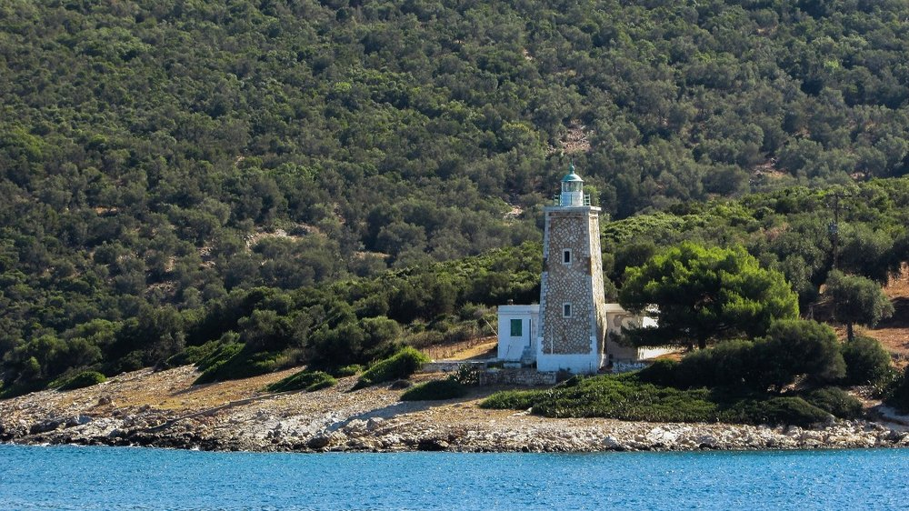 Lighthouse in Pelio