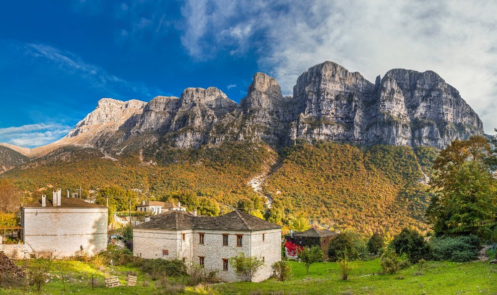 Autumn colors in Zagorochoria villages