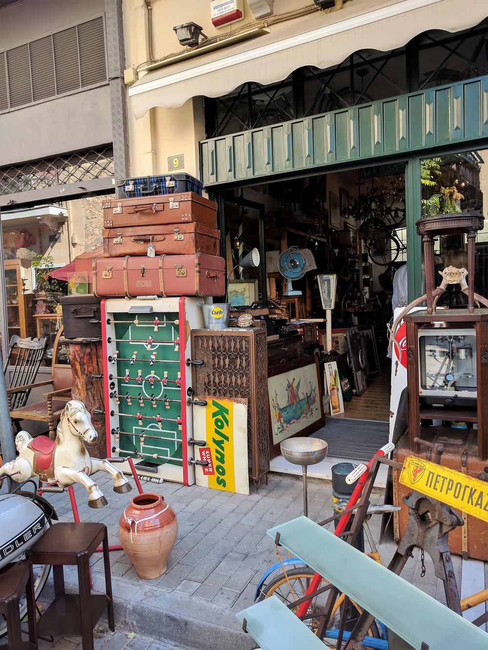 Little treasure in Monastiraki's Flea Market