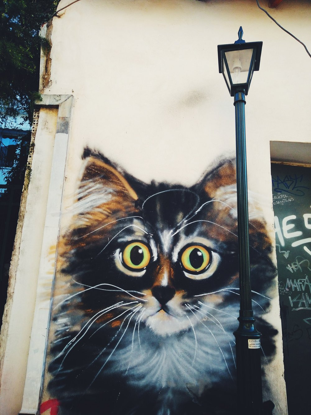 Graffiti in Kisifia