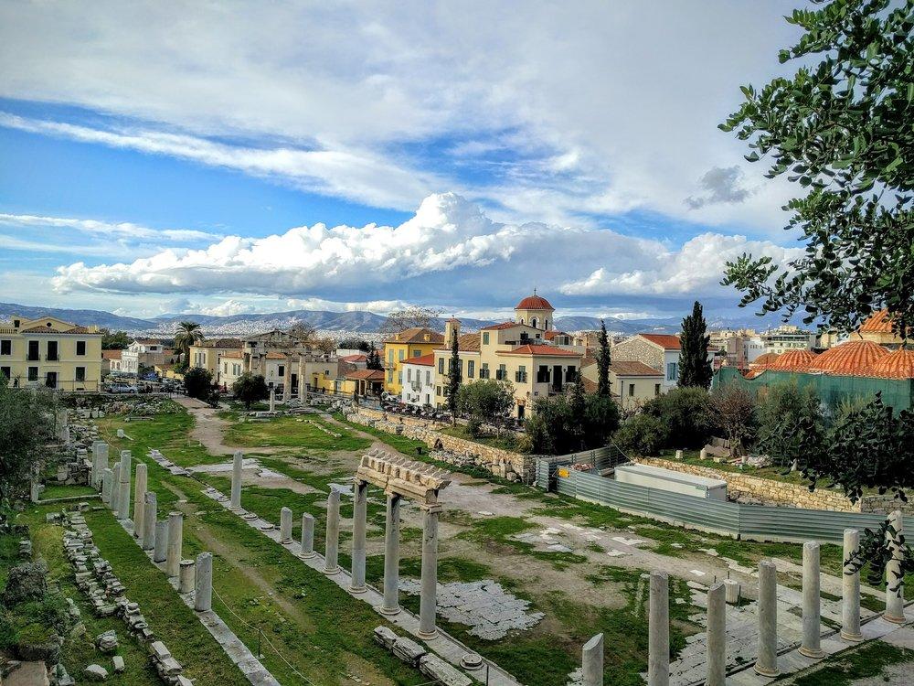 The Roman Agora. Source: Truevoyagers
