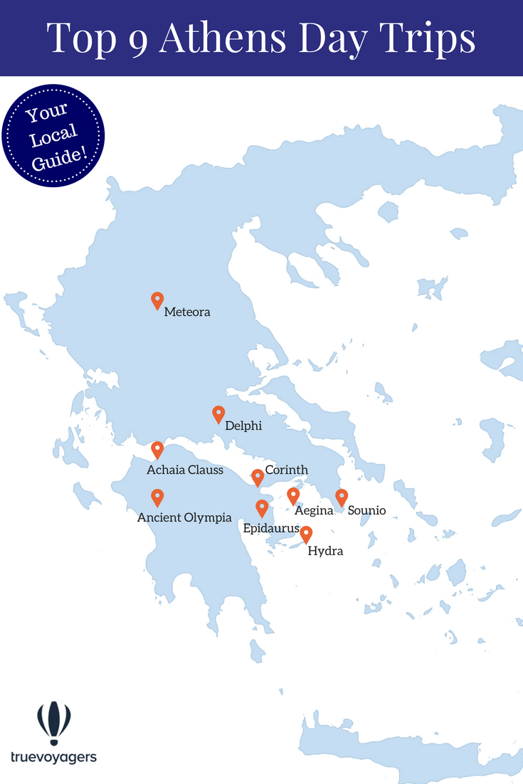 The Best 9 Day Trips from Athens by Truevoyagers
