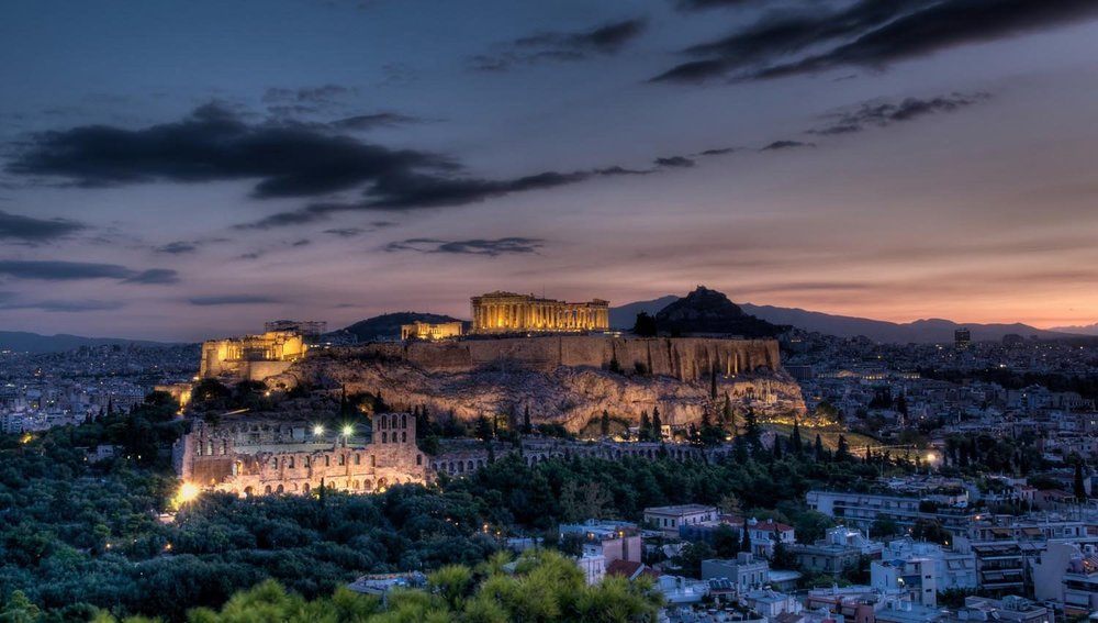 Another magical evening on the terrace of Central Hotel, Athens. Source: Central Hotel