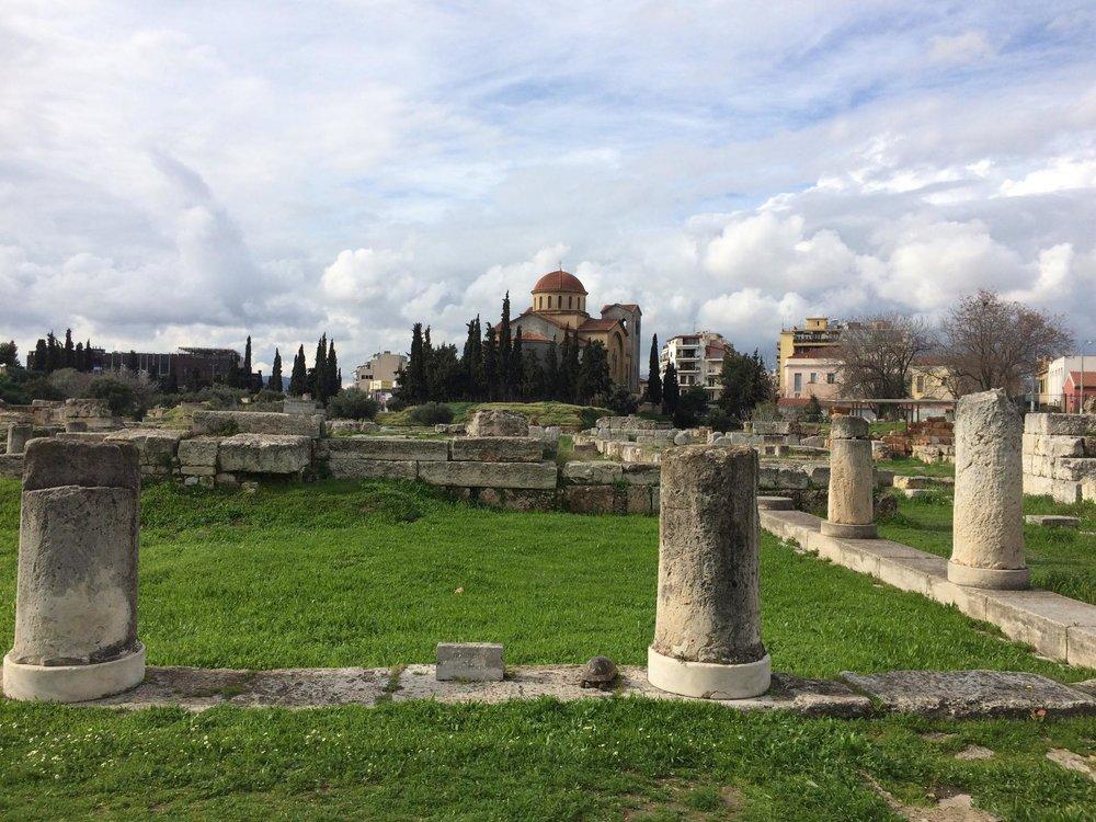 The ancient cemetery of Kerameikos. Source: Truevoyagers