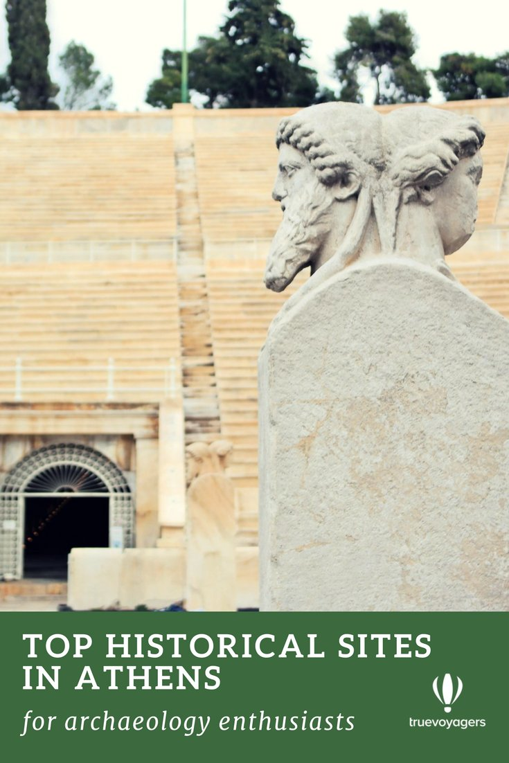 Top Historical Sites in Athens, Greece for archaeology enthusiasts by Truevoyagers