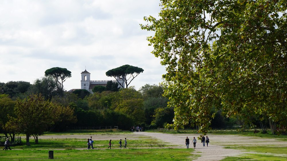 Villa Borghese Gardens except from amazing views offer you the chance for a walk inside a vast area of green. Source: Truevoyagers