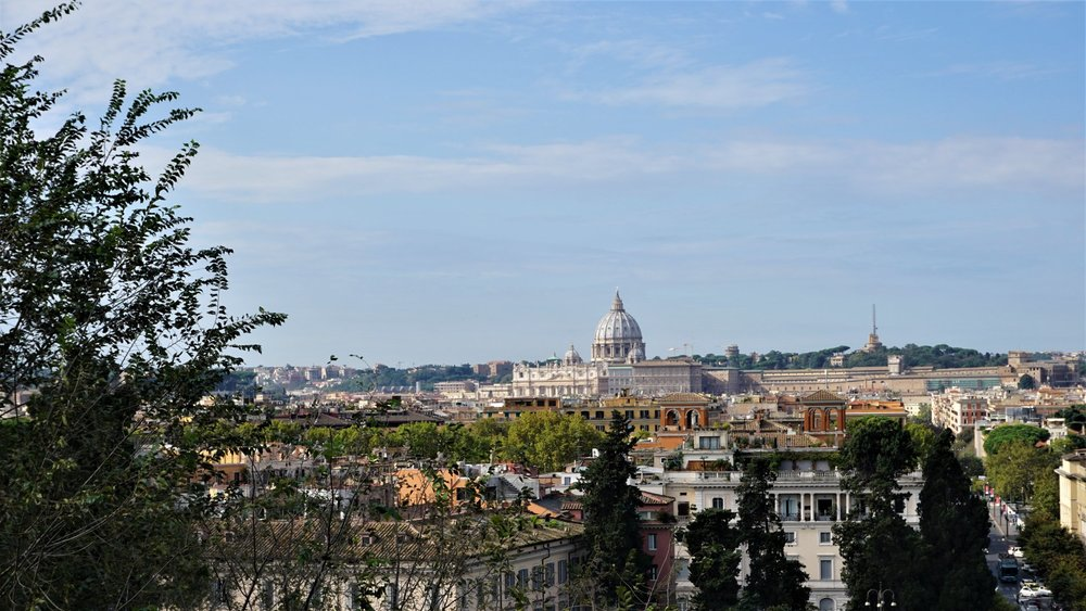 Stunning views of the Italian capital from the Pincio Terrace. Source: Truevoyagers