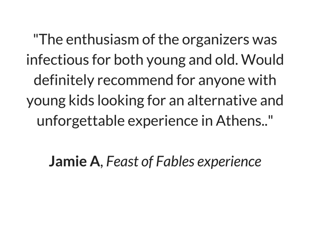 Jamie's Review for Feast of Fables