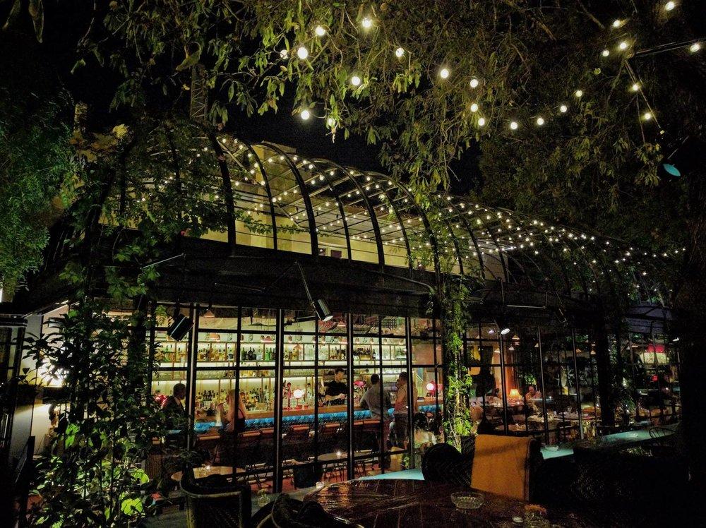 Night drinks at Artisanal cafe-bar in Kifissia neighborhood. Source: Truevoyagers