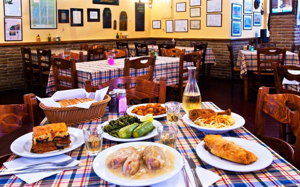 The traditional taverna of  Kitsoulas  in Chalandri offers good quality Greek food. Source: Kathimerini