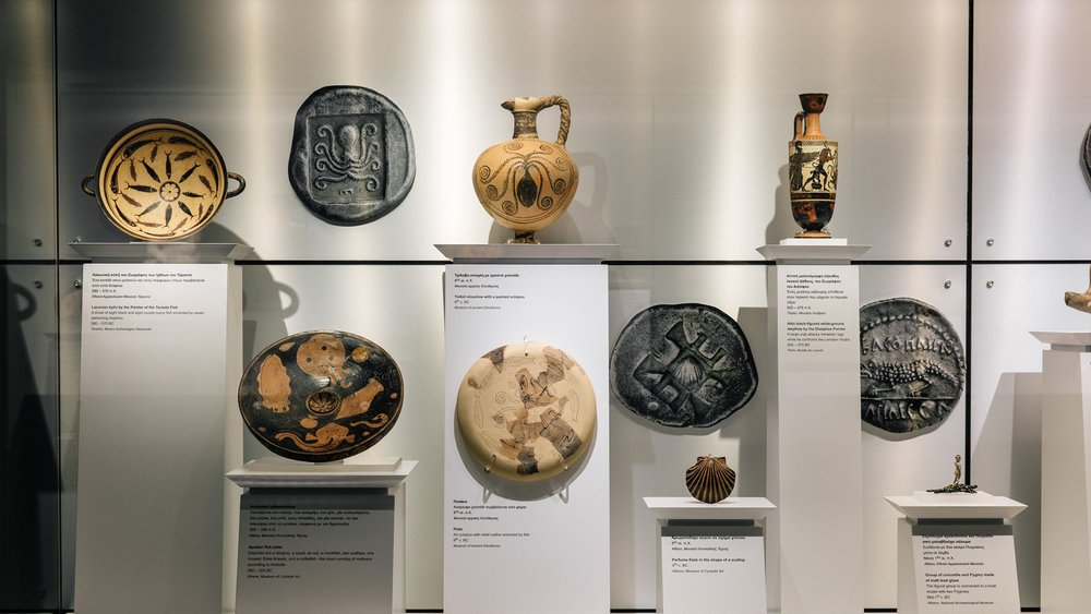 "From the exhibition ""MONEY. Tangible symbols in ancient Greece"". Credits: Paris Tavitian"