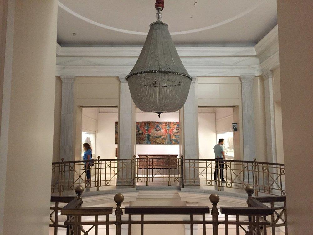 Inside the Benaki Museum in the Benakis family mansion. Source:budgettraveller.org