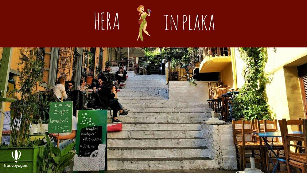 Hera in Plaka. Copyright: Truevoyagers