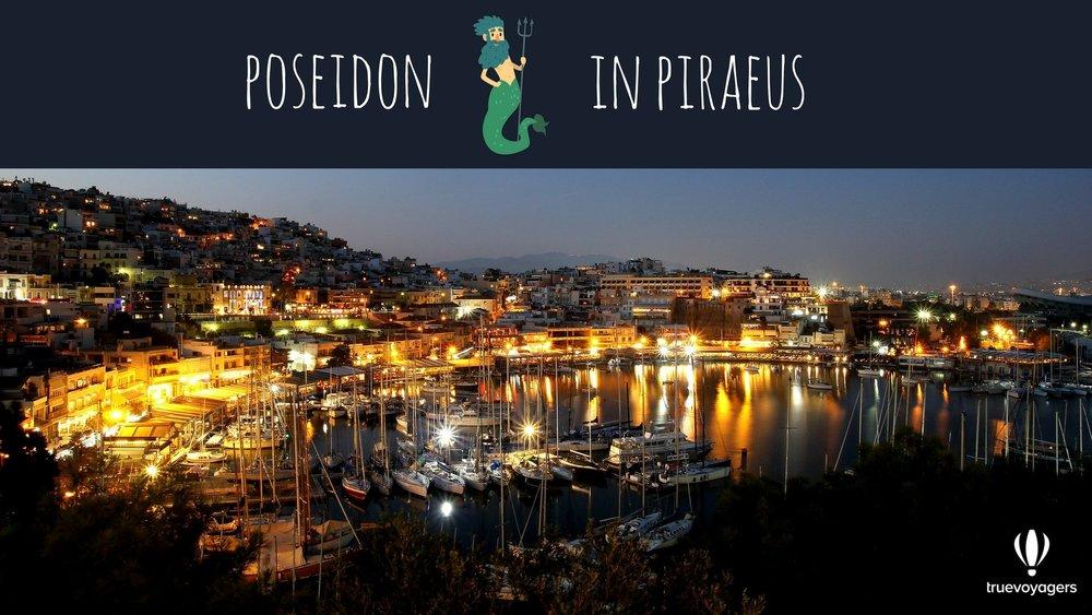 Poseidon in Piraeus.Copyright: Truevoyagers