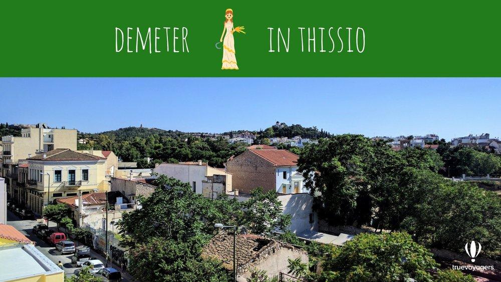 Demeter in Thissio. Copyright: Truevoyagers