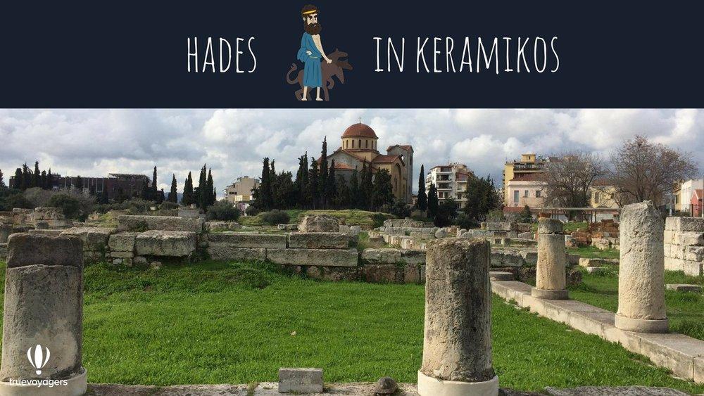 Hades in Keramikos.Copyright: Truevoyagers
