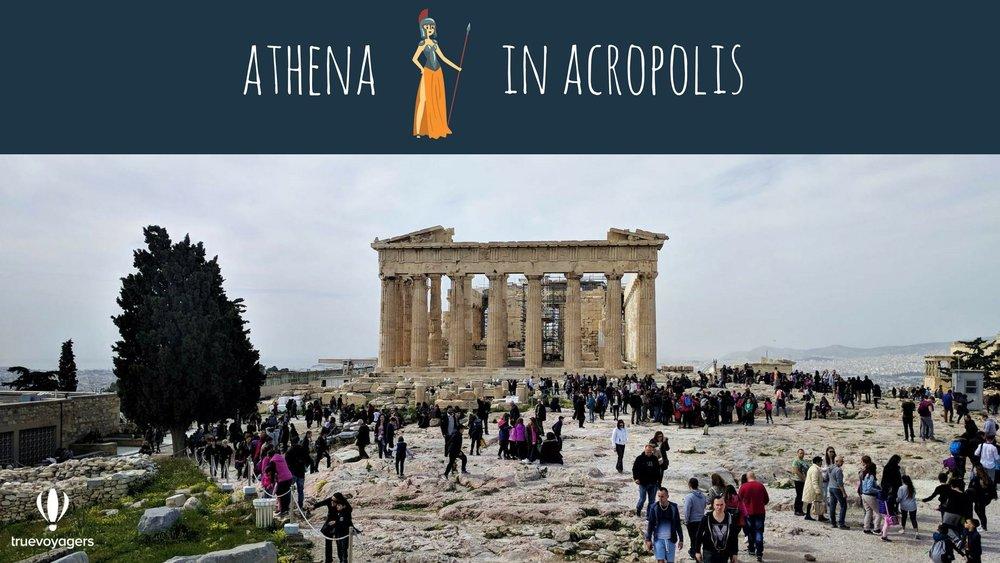 Athena in Acropolis.Copyright: Truevoyagers