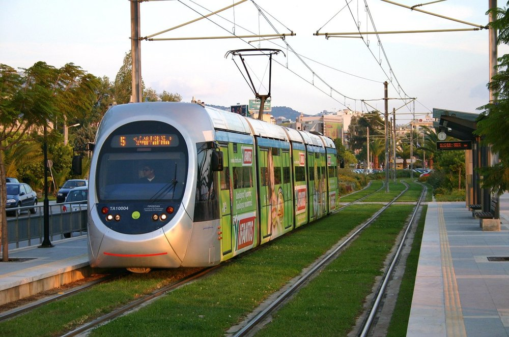 The Athens tram serves mostly tourists and citizens who want to visit the southern suburbs of the city.