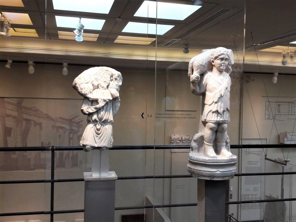 The various artifacts of the museum's collection come from all around the Greek world as well as from regions that were influenced by the Byzantine Empire. Source: 1gym-meliss.gr