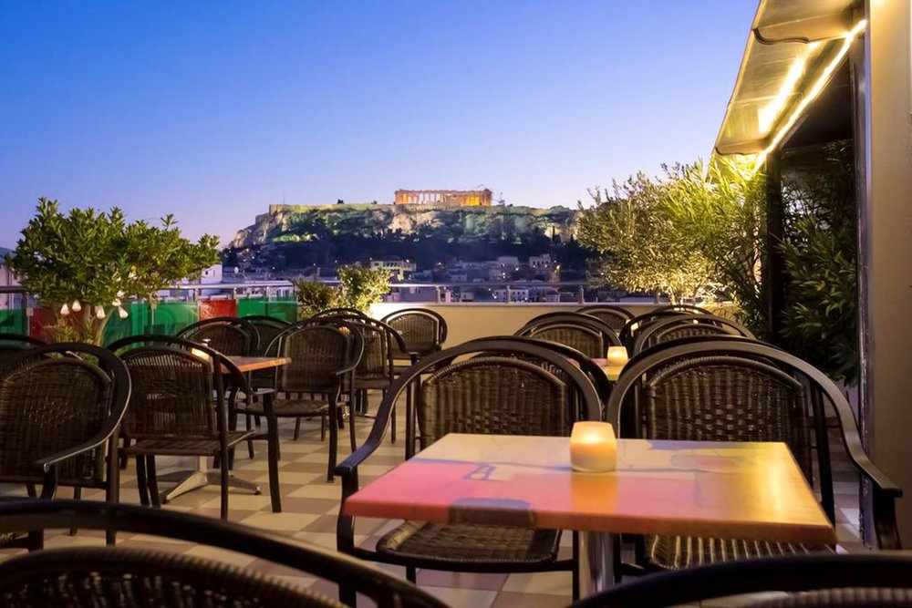 Hotel Attalos: Offers the best value without sacrificing quality and experience together with a mesmerizing Acropolis view.