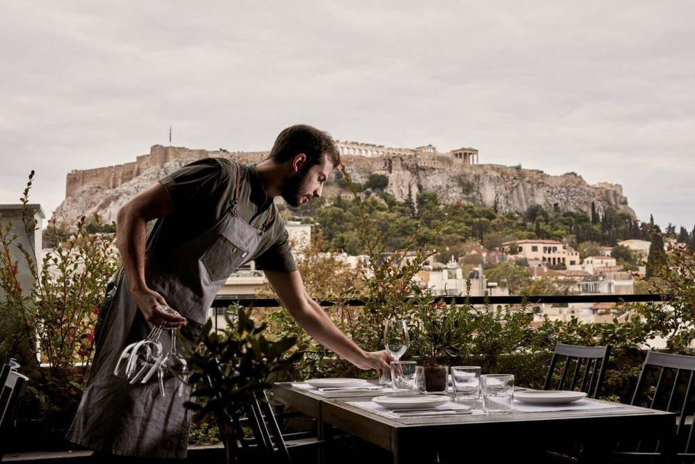 The Zillers: Wake up to a stunning view of the Acropolis in this gorgeous boutique hotel.