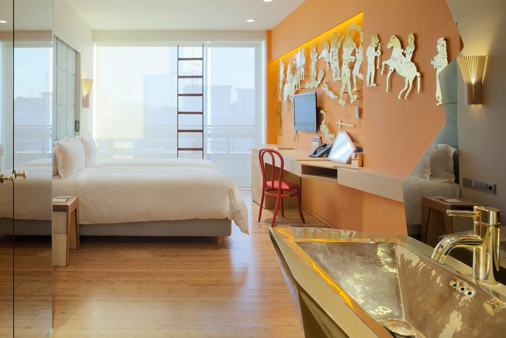 New Hotel: Olympic palace turned into a stunningly modern building in the heart of Athens.