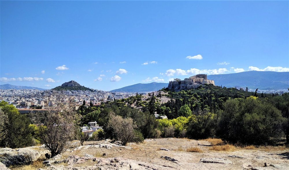 A couple of hours is not sufficient to get the most of Athens, but you can at least have the time to see some of the main attractions, just like the Parthenon, shown in the picture. Source: Truevoyagers