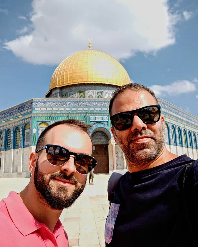 Short break from our #Athenstours with a trip to Israel in order to get to know new cultures and create invaluable partnerships! Here in the Temple Mount of the Old City of Jerusalem!