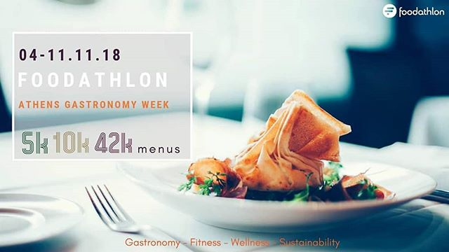 Our new project, called @thefoodathlon is about to launch in #Athens! In collaboration with @sfmingr and healthyclub, we got inspired by the #Athensmarathon and we have created special #popupevents for #runners and #foodies! We also joined forces with selected #athensrestaurants and created unique #menus of 15, 29 and 49 euros, with names borrowed from Marathon's different courses (5k, 10k, and 42k respectively). Join us in a celebration of #fitness, #gastronomy, #wellness and #sustainability! 🔸 🔹 🔸 🔹 #runningAthens #greekfood #visitgreece #foodfestival #foodathlon #foodiesgetready #great_athens #igers_greece #ig_greece #team_greece #vsco_greece #instadaily #running #marathon #greekcuisine #startup #truevoyagers #sfmingr #healthyclub