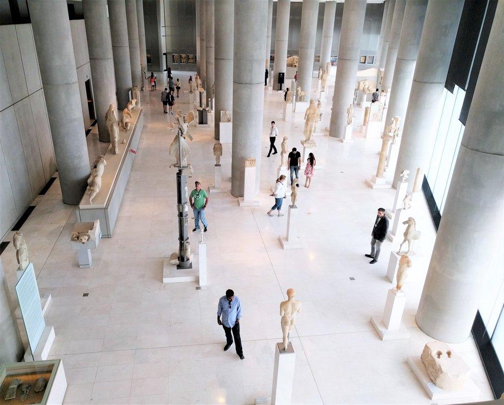 Inside Athens Acropolis Museum. Source: Truevoyagers